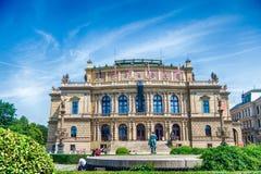 Rudolfinum galeria w Praga, republika czech Obrazy Royalty Free