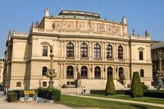 Rudolfinum Konzertsaal Lizenzfreies Stockbild