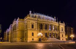 The Rudolfinum, a music auditorium in Prague Royalty Free Stock Photos