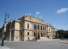 Rudolfinum in Prague Royalty Free Stock Image