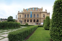 The Rudolfinum Prague Czech republic Stock Photography