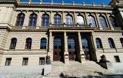 Rudolfinum in Prague, Czech republic Royalty Free Stock Image