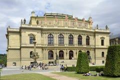 Rudolfinum in Prague - Czech Republic Stock Images