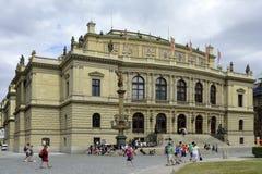 Rudolfinum in Prague - Czech Republic Stock Photo
