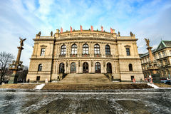 The Rudolfinum Prague, Czech Republic Stock Images