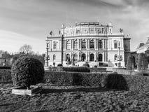 The Rudolfinum in Prague Stock Image