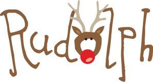 Rudolph Royalty-vrije Stock Afbeeldingen