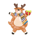 Rudolph christmas decoration Stock Photos