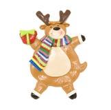 Rudolph christmas decoration Royalty Free Stock Photos