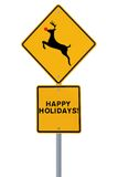Rudolph Crossing Royalty Free Stock Photography