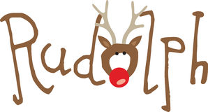 Rudolph Royalty Free Stock Images