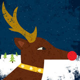 Rudolph Portrait royalty-vrije illustratie