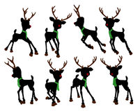 Rudolph The Red Nosed Reindeer Illustration Royalty Free Stock Images