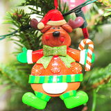 Rudolph the reindeer - Christmas tree decoration Stock Image