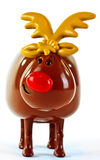 Rudolph Reindeer Toy Royalty Free Stock Photography