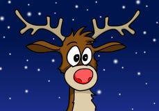 Rudolph a rena Imagens de Stock Royalty Free