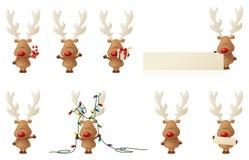 Rudolph reniferowy ilustracja wektor