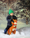 Rudolph Rider Royalty Free Stock Image