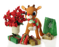 Rudolph's Ready Royalty Free Stock Image