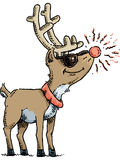 Rudolph Shades Royalty Free Stock Photo