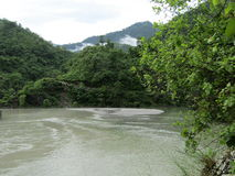 Rudraprayag, Индия стоковое фото