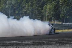 Rudskogen Motor Centre (hot rod festival) Royalty Free Stock Photos