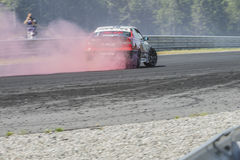 Rudskogen Motor Centre (hot rod festival) Stock Photography