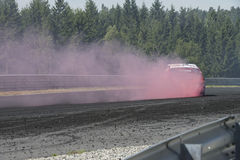 Rudskogen Motor Centre (hot rod festival) Stock Photo