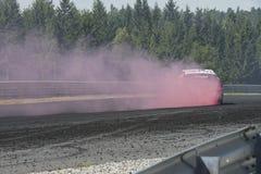 Rudskogen silnika Centre (gorącego prącia festiwal) Zdjęcie Stock