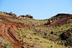 Rudy Żelaza eksploracja Pilbara, Australia - zdjęcia stock