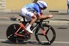 Rudy Molard konkurent przy wysoką prędkością przy Giro 2017, Mediolan Zdjęcie Stock