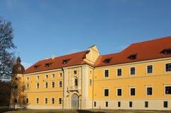 Rudy, Poland. Old monastery in Rudy, Poland. Catholic landmark Stock Images