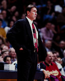 Rudy Tomjanovich Houston Rockets Head Coach Arkivfoto