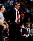 Rudy Tomjanovich, Houston Rockets Head Coach. Houston Rockets head coach Rudy Tomjanovich Royalty Free Stock Images