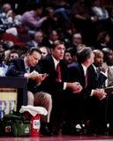 Rudy Tomjanovich, Houston Rockets Head Coach. Houston Rockets head coach Rudy Tomjanovich Royalty Free Stock Image