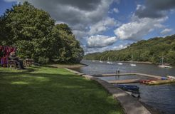 Free Rudyard Lake, England - A Sunny Day. Stock Photos - 127587483