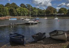 Free Rudyard Lake, England - The Boats. Stock Photo - 127587600