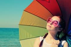 Rudzielec młoda kobieta Fotografia Stock