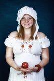 Rudzielec piękna kobiety Zdjęcia Royalty Free
