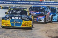 Rudzik LARSSON Barcelona FIA świat Rallycross Obrazy Royalty Free