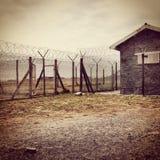 Rudzik wyspy więzienie Obrazy Royalty Free