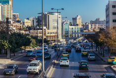 Rue à Amman Photo libre de droits