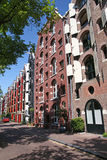 Rue à Amsterdam photos libres de droits