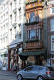 Rue à Amsterdam Photographie stock libre de droits