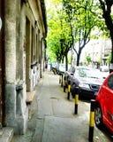 Rue à Belgrade Image libre de droits