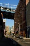 Rue à Brooklyn, New York Photo stock
