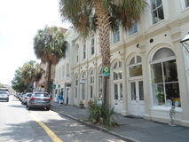 Rue à Charleston Photographie stock