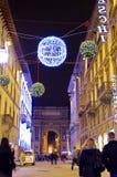Rue à Florence, Italie photographie stock libre de droits