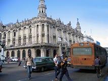 Rue à La Havane Image libre de droits