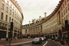 Rue à Londres centrale Images stock